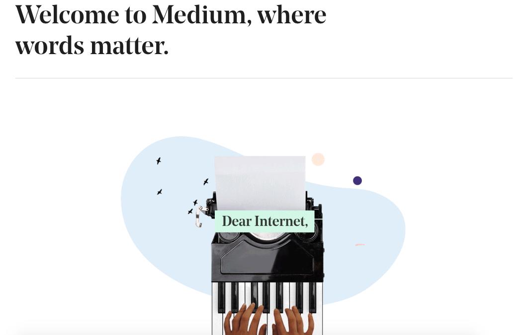 Medium, la plateforme où créer votre blog ?